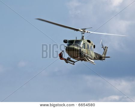 Huey Chopper Medevac