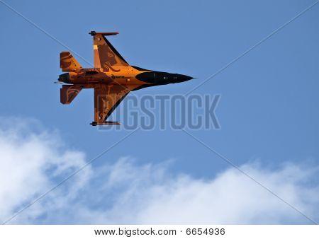 Rnlaf  F-16 Fighting Falcon On Afterburner