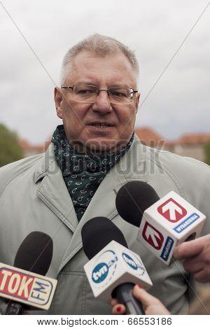 Maciej Jankowski, Polish Under Secretary Of State For Ministry Of National Defence