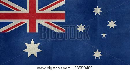 National flag of Australia, textured version