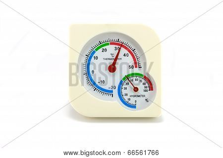 Thermometer And Hygrometer Device