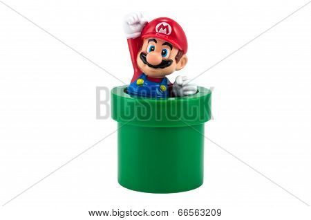 Mario With Pipe
