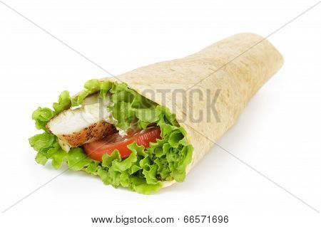 Tortilla Chicken Wrap
