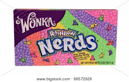 Box Of Wonka Nerds Candy
