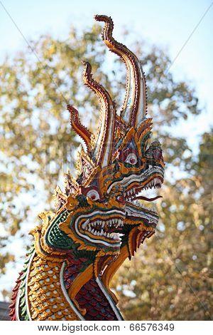 Multi-headed serpent