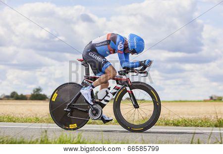 The Cyclist Daniel Martin