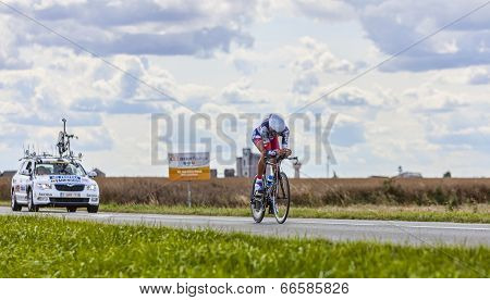 The Cyclist Jelle Vanendert