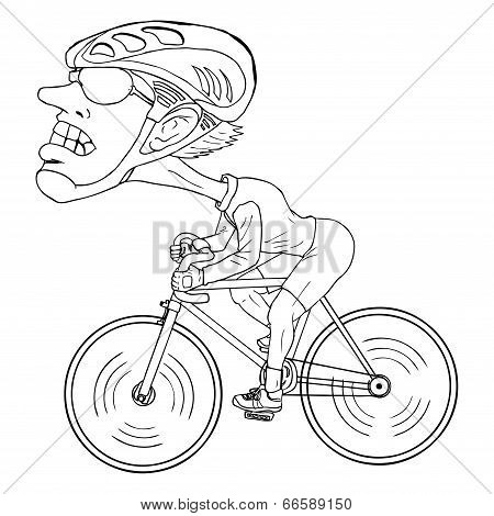 Bicycle Athlete