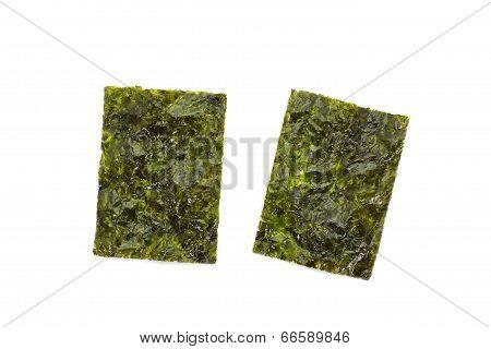 Sheet of dried nori ,dried seaweed