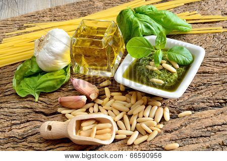 Ingredients By Pesto Genovese