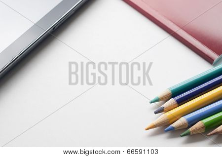 Tablet pc, notebook and pen