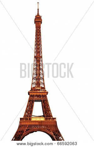 The Eiffel Tower Isolated