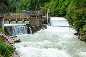 picture of hydro  - Small hydro power plant in Turkey - JPG