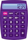 stock photo of x-rated  - calculator x vector illustration clip - JPG