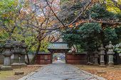 foto of shogun  - Toshogu Shrine at Ueno Park in Tokyo - JPG