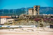 stock photo of tarifa  - Castle Santa Catalina in Tarifa - JPG
