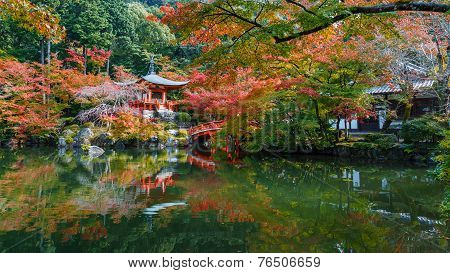 Early Autumn at Daigoji Temple in Kyoto Japan