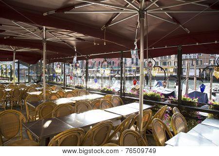Vacant Restaurant In Venice