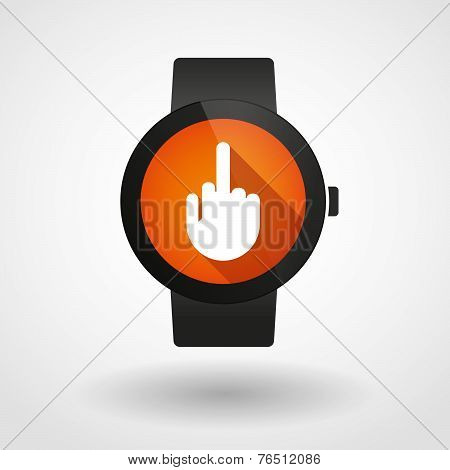 Smart Watch Displaying A Hand