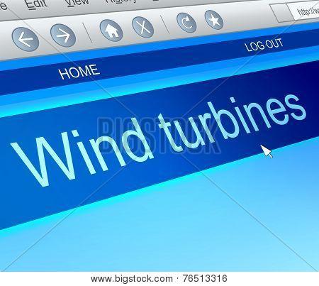 Wind Turbine Concept.