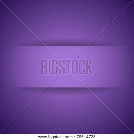Abstract Violet Paper With Shadow Background