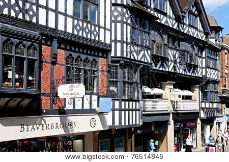 Tudor Shops, Chester