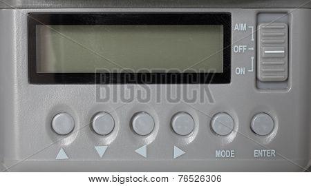 Unpowered Control Panel