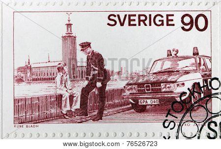 Policeman Stamp