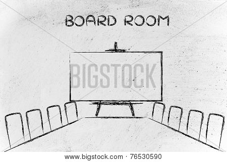 Meeting Room Or Board Room Design
