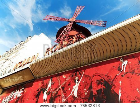 Le Moulin Rouge of Paris