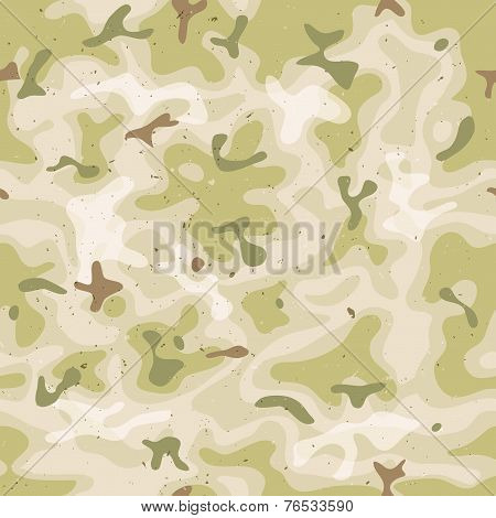 Seamless Military Camouflage Set