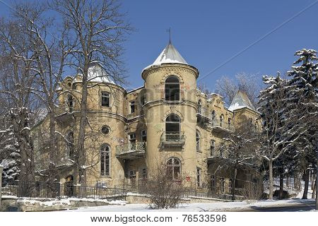 The Abandoned Building. Pyatigorsk.