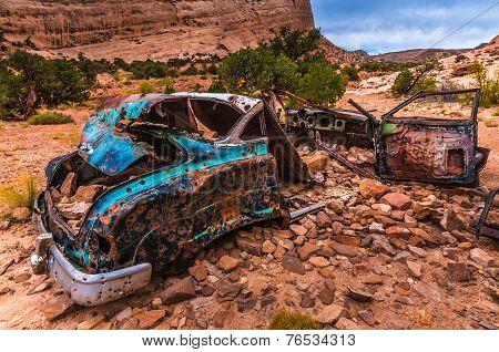 Abandoned Car Utah