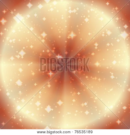 Abstract Background With Twinkling Stars