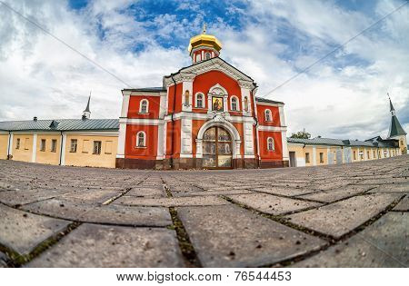 Valday Iversky Monastery, A Russian Orthodox Monastery Founded By Patriarch Nikon In 1653