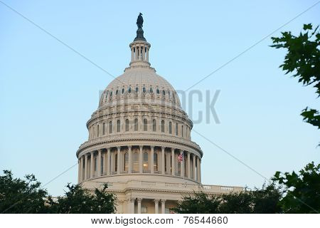 United States Capitol Building in Washington DC, USA