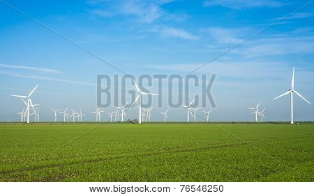 windmill power plant