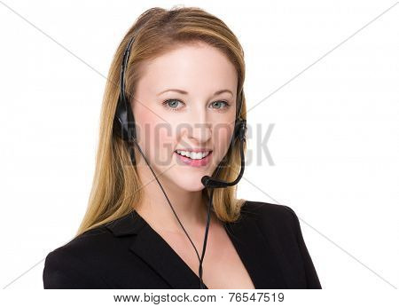 Customer services operator