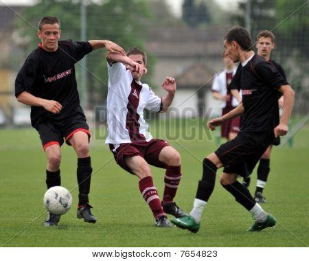 U19 soccer game