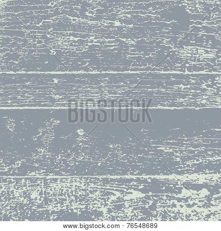 Grunge Wood Vector Overlay texture.
