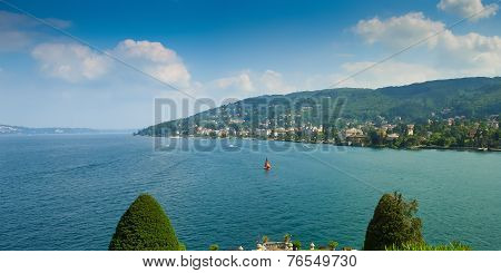 Stresa Seen From Isola Bella