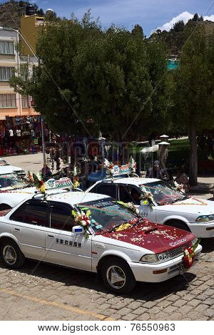 Blessing of Cars in Copacabana, Bolivia