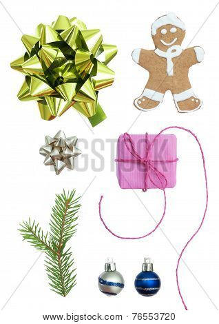 Christmas Set With Seven Symbols