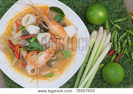 Thai Food (tom Yum Goong)