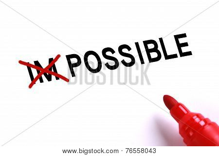 Possible no Impossible