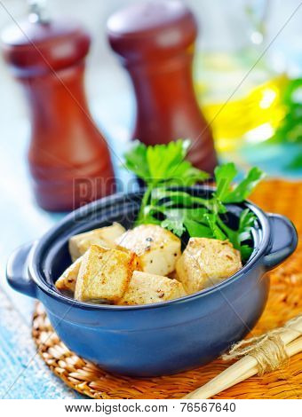 fried tofu cheese