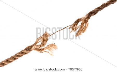 Fraying Rope