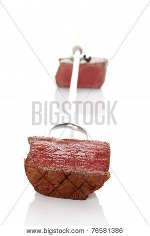 Luxurious Steak.