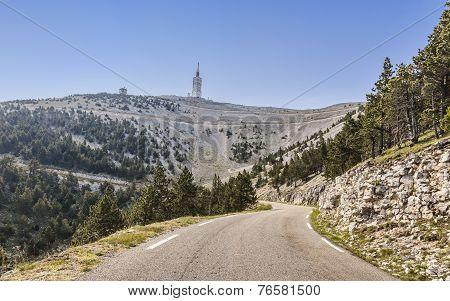 Road To Mont Ventoux