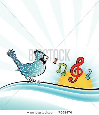 Pajarito que canta
